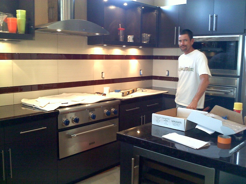 Tile Counter Tops And Back Splash Creations Hamilton