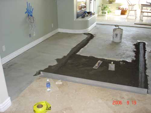 Floating A Floor With Drypack Hamilton Tile And Stone Temecula