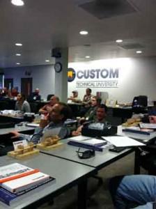 Classroom at CTU